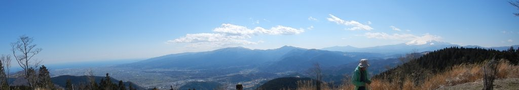 高松山からのパノラマ写真