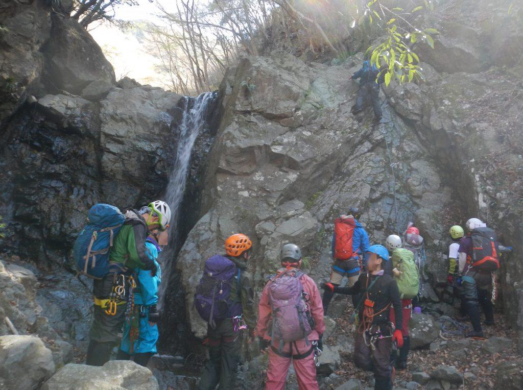 板立ての滝